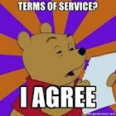 how to write terms of service