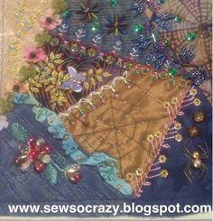 Sew So Crazy!©: Vickie - Calondra workshops