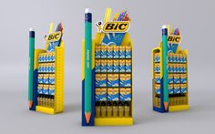 "Check out this @Behance project: ""Bic pens stand"" https://www.behance.net/gallery/35912893/Bic-pens-stand"