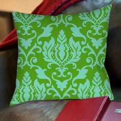 Found it at Wayfair - Francie Damask Printed Throw Pillow