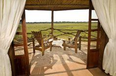 Kafunta River Lodge suite view