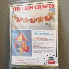 Hey, I found this really awesome Etsy listing at https://www.etsy.com/listing/456812788/vintage-1979-lo-lo-bags-the-crib-crafts
