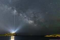The Milky Way over the Temple of Poseidon --- Jun. 8 --- Image Credit & Copyright: Alexandros Maragos; Rollover Annotation: Judy Schmidt