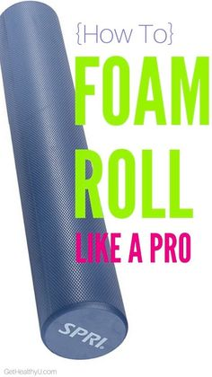 Foam roller? Yes, it hurts a little! Yes, it works! And yes, you should be doing it! Momentary discomfort will lead to long-term relief!