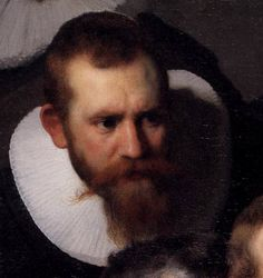 .:. Rembrandt 'The Anatomy Lesson of Dr. Nicolaes Tulp'(detail) 1632