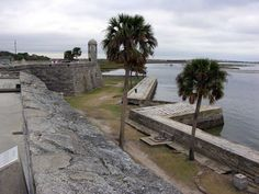 castillo de san marcos st augustine florida.  I miss this place sooooo much.  Had a serious case of heartache for St. Augustine today!