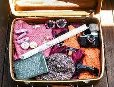 Zoella's suit case is so pretty