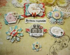 Teresa Collins Stationary Notes Handmade by mydivineinspiration