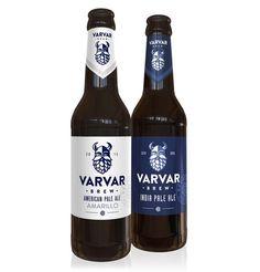 VARVAR India Pale Ale #packaging