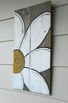 Arte com sobras de madeira