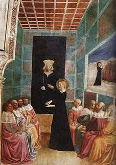 Dispute de sainte Catherine avec les philosophes païens d'Alexandrie, Masolino