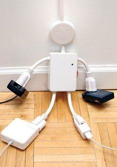 Electro Man Multi-Outlet