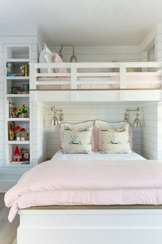 I want to do this in one of the rooms when we move. This would be so cool and I think the girls would love it