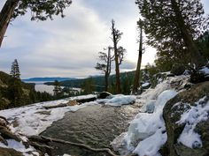 The Local's List of the 18 Best Things to Do in Lake Tahoe this Winter Lake Tahoe Hiking, Lake Tahoe Winter, South Lake Tahoe, Sledding Hill, Wild Camp, Small Lake, Hidden Beach