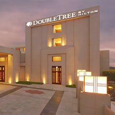Choose a room overlooking the Taj Mahal when you stay at DoubleTree by Hilton Hotel Agra.