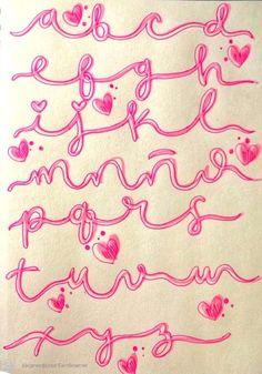 Doodle Lettering, Hand Lettering Fonts, Letras Comic, Cool Fonts, Stencils, Banner, Doodles, Bullet Journal, Kids Rugs
