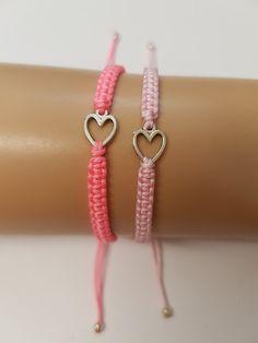 Mother daughter bracelet set  mothers day  girls by katsmakes