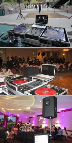 This business has professionals who provide DJ and emcee services for private events, and other occasion. They also offer high-end sound and video equipment services, plus more.