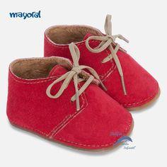 1993392d77d Botín para niño bebe de MAYORAL NEWBORN de antelina color rojo Keds,  Χαριτωμένα Παιδιά,