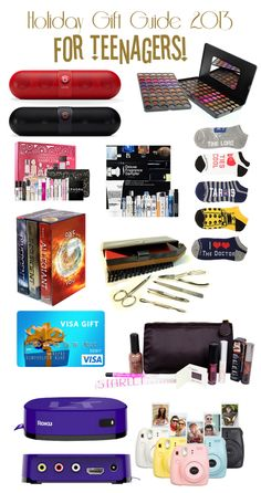 Christmas Gifts for Teenage Girls List | Christmas gifts, Parents ...