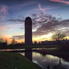 Zoetermeer, watertoren Foto: Petra Simons