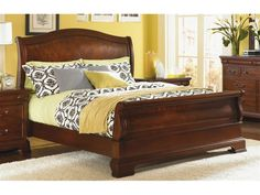 ... Legacy Classic Furniture Bedroom Sleigh Bed   Queen 9180 4305K   Stacy  Furniture   Grapevine ...