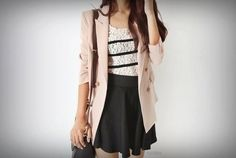 A great, stylish work outfit or evening look
