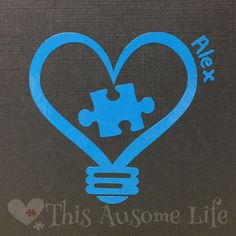 A personal favorite from my Etsy shop https://www.etsy.com/listing/227004947/autism-awareness-vinyl-car-decal-bumper