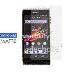 Anti-Glare (Matte) Screen Protector for Sony Xperia L C2104 C2105 [AG-SNPLC21] - $8.00