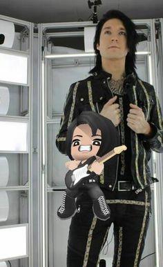 Black Veil Brides buddy poke- Jake by Tokiogirl21
