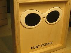 Famous Glasses: KURT COBAIN