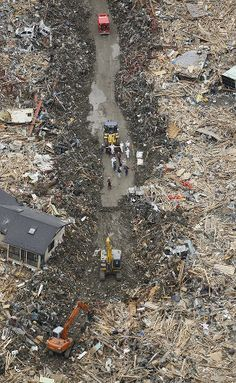 Japan - How the cleanup starts