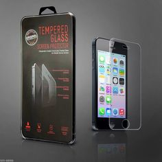 "Clear AntiScratch Tempered Glass Screen Protector For Apple iPhone6 4.7"" Generic - Screen Protectors"
