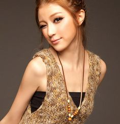Taiwan model Grace Chen
