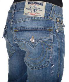 True Religion Mens Jeans Size 33 Straight W/Flap No DISCPLNE MWT $ 242.00 #TrueReligion #ClassicStraightLeg