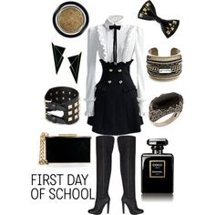 """Back to School"" by prettywildthing on Polyvore"