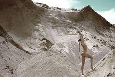 Desert Dust Lingerie: The Sylvie Malfray Photoshoot With Marloes Horst Desert Photography, Nude Photography, Fashion Photography, Photography Ideas, Portrait Photography, White Sands New Mexico, Vasquez Rocks, Beach Shoot, Nude Beach