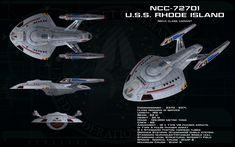 Nova class variant ortho - USS Rhode Island by unusualsuspex.deviantart.com on @DeviantArt