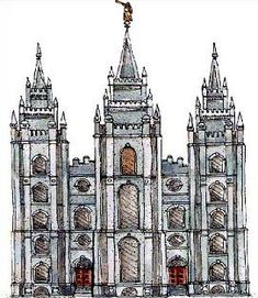 Free LDS Temple Clipart