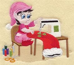 Machine Embroidery Designs at Embroidery Library! - Crafty Christmas