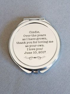 Etsy Personalized Compact Mirror, Bridesmaids' #ad gifts, Personalized Bridesmaids Gifts, Wedding gift ,Perso