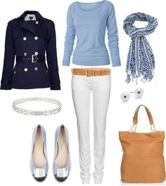 """Ferragamo Flats"" by bluehydrangea ❤ liked on Polyvore"