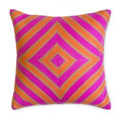 Discover the Jonathan Adler Jaipur Diamond Cushion at Amara