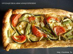 Hoy Cocinas Tú: Hojaldre de verduras y queso