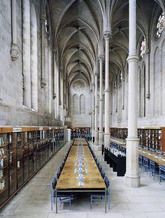 Bibliothèque du CNAM Paris  Candida Hofer