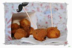Cocinando... un abril encantado: Bocaditos de huevos de codorniz a la crema.... para el reto de Tía Alia
