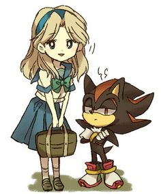 Shadow and Maria.