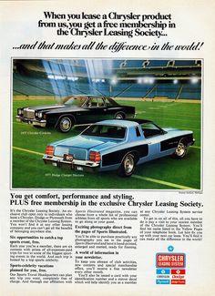 1977 Chrysler Cordoba & Dodge Charger Daytona | Explore alde… | Flickr - Photo Sharing!