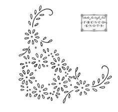 Vintage Embroidery Designs Daisy wreath, daisy corner for hand embroidery Embroidery Flowers Pattern, Simple Embroidery, Embroidery Patterns Free, Crewel Embroidery, Hand Embroidery Designs, Vintage Embroidery, Embroidery Kits, Ribbon Embroidery, Machine Embroidery