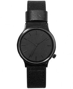 Komono - Wizard Heritage Watch (Black Black) - $75